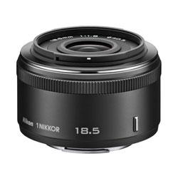【送料無料】ニコン 1 NIKKOR 18.5mm f/1.8 ブラック 《11月1日登場》