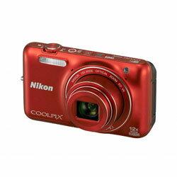 【送料無料】ニコン COOLPIX S6600 RD ラズベリーレッド 《8月29日発売予定》
