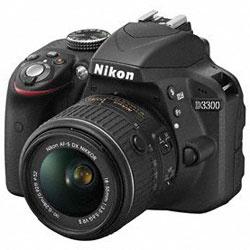 【送料無料】ニコン D3300 18-55 VR II レンズキット ブラック 《2月発売予定》