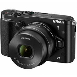 【ショッピングクレジット20回まで分割金利手数料無料】ニコン Nikon 1 V3 標準パワーズームレ...