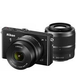 【ショッピングクレジット20回まで分割金利手数料無料】ニコン Nikon1 J4 ダブルズームキット ...