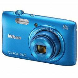 【あす楽】 ニコン COOLPIX S3600 BL コバルトブルー (Nikon コンパクトデジタルカメラ)