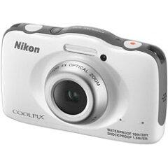 【あす楽】 ニコン COOLPIX S32 WH ホワイト (Nikon コンパクトデジタルカメラ) 【在庫限り】