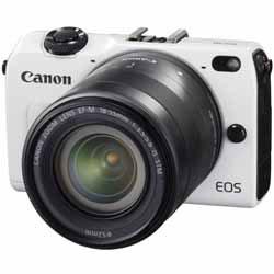【送料無料】キヤノン EOS M2 EF-M18-55 IS STM レンズキット ホワイト 《12月20日発売予定》