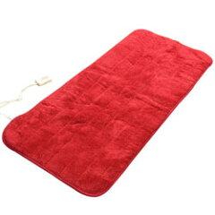 【あす楽】 YAMAZEN 洗えるどこでもカーペット 80×180cm YWC-S18D-R レッド