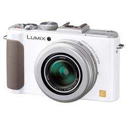 【送料無料】【あす楽】 パナソニック LUMIX DMC-LX7-W ホワイト