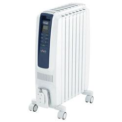 【あす楽】 デロンギ オイルヒーター ドラゴンデジタルスマート QSD0712-MB ピュアホワイト+ブルー