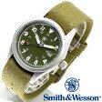 [正規品] スミス&ウェッソン Smith & Wesson ミリタリー腕時計 MILITARY WATCH OLIVE DRAB SWW-1464-OD [あす楽] [ラッピング無料] [送料無料]