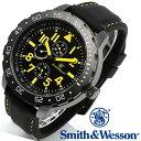 [正規品] スミス&ウェッソン Smith & Wesson ミリタリー腕時計 CALIBRATOR WATCH YELLOW/BLACK SWW-877-YW [あす楽] [ラッピング無料] [送料無料]