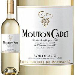 [2010] ムートン・カデ・ブラン / フランス ボルドー / 750ml / 白