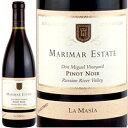 ワイン 赤ワイン 2013年 ラ・マシーア・ピノ・ノワール・ドン・ミゲル・ヴィンヤード / マリマー・エステート アメリカ カリフォルニア ソノマ / 750ml