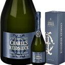 ワイン スパークリング シャンパン 白 発泡 シャルル・エドシック ブリュット・レゼルヴ [ボックス付] / シャルル・エドシック フランス シャンパーニュ / 750ml