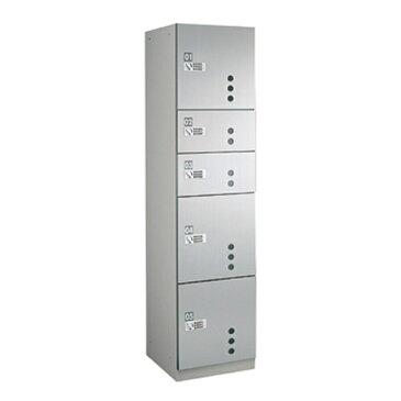 ダイケン 宅配ボックスBB4型 プッシュボタン錠タイプ(可変式) ステンレス貼扉 TBX-BB4SS SSユニット