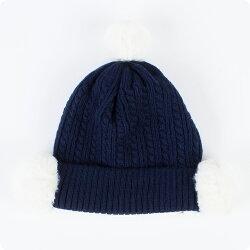 【2016年新商品】梵天付ニット帽子キッズ帽子ベビー帽子48cm〜50cm48cm50cm48cm50cm