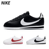 【SALE】NIKE ナイキ WMNS CLASSIC CORTEZ LEATHER ウィメンズ クラシック コルテッツ レザー【BLACK/RED/WHITE】