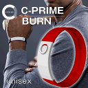 【海外販売用ページ】C-PRIME BURN ★ Free shipping ★ [ white / red / red ] Power band Wristband , Baseball Marathon Football Golf , made of Silicon , Tokyo Olympic 2020 [ C-PRIME Authorized dealer ]