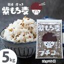 \半額!数量限定タイムSALE/ 国産 もち麦 送料無料 「 皮付 紫もち麦 5kg(1kg5袋)」 ダイシモチ アントシアニン 腸内環境 食物繊維