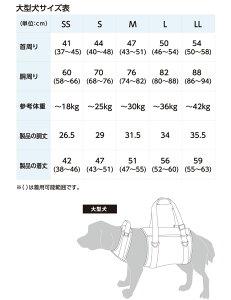 大型犬用歩行補助ハーネストリコロール[ブルー]/犬のハーネス/犬用【_包装】