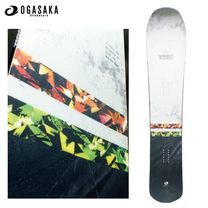 ホットワックス付 20 OGASAKA SPROUT 148cm オガサカ スプラウト ディレクショナル コンベックス 20Snow スノーボード 19-20 正規品