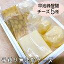 【ふるさと納税】早池峰醍醐 手造り無添加チーズ5種類セット