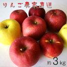 【ふるさと納税】りんごミックス贈答用(約3kg)