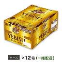 【ふるさと納税】ヱビスビール 地元名取工場産(500ml×24本入を12ケースお届け)同時お届け