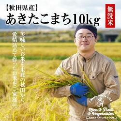 【ふるさと納税】60P9201 秋田県産あきたこまち(無洗米)10kg 画像1