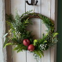 【ふるさと納税】自然の香りのクリスマスリース 2020「NOEL」11/20〜12/20にお届け ※着日指定不可