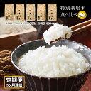 【ふるさと納税】≪定期便≫新米 一等米 特別栽培米5種食べ比...