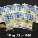 【ふるさと納税】新潟県阿賀町産コシヒカリ「みかわ稲穂の舞」16kg(2kg×8袋)