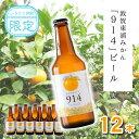 【ふるさと納税】敦賀東浦みかん「914」ビール 12本入り 御中元【お酒・地ビール】