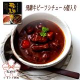 【ふるさと納税】飛騨牛ビーフシチューセット(6個)