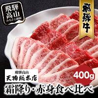【ふるさと納税】A5飛騨牛焼肉400gb537