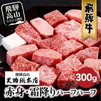 【ふるさと納税】A5飛騨牛サイコロステーキ300gb538
