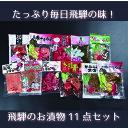 【ふるさと納税】飛騨のお漬物 赤かぶら漬け 11点セット モリモ食品[B0273]