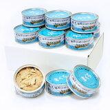 【ふるさと納税】a10-119 焼津漁協オリジナルツナ缶詰(まぐろ油漬け)12缶入