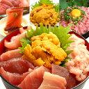 【ふるさと納税】a30-213 三種の海鮮丼 ネギトロ まぐろ切り落とし うに
