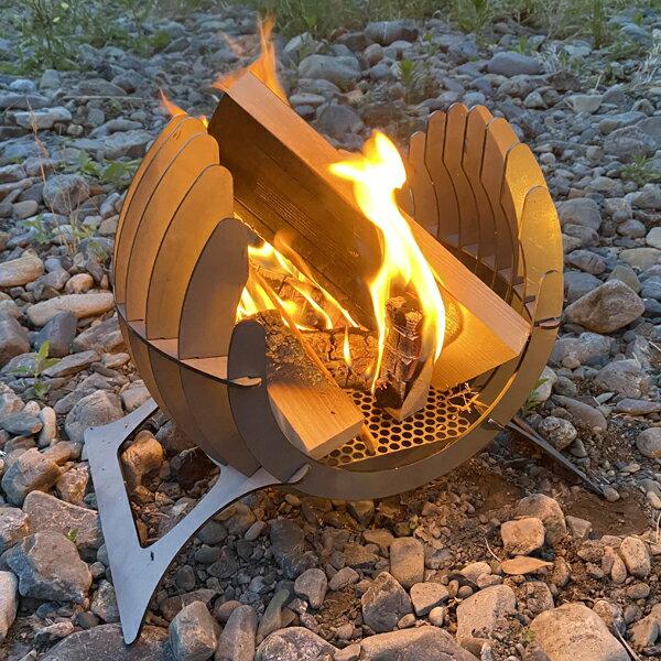 アウトドア BBQ 焚き火台 Bonfireシリーズ Firewing