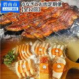【ふるさと納税】うなぎとお肉 定期便(全12回お届け) H028-021