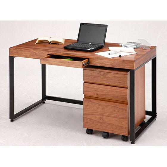 ウォールナットデスクセット [デスク/家具・つくえ・テーブル・かぐ]