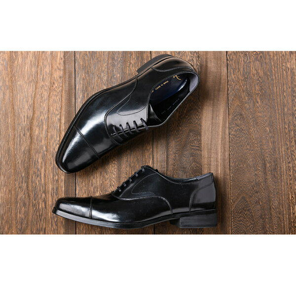 ふるさと納税 倭イズム牛革マッケイビジネスシューズ紳士靴YAP600(ブラック) ファッション・靴・シューズ・革製品・革靴