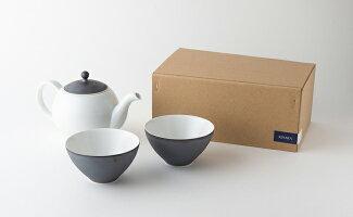 【ふるさと納税】KIHARA茶葉ポット+せん茶×2