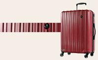 【ふるさと納税】PC7258スーツケース(Lサイズ・クリムゾンレッド)