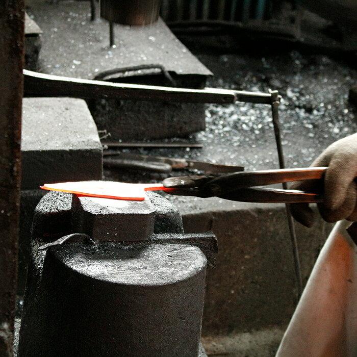 【ふるさと納税】BAI001【職人の手仕事が光る】野鍛冶の魚さばき包丁(小魚用)【切れ味バツグン!】