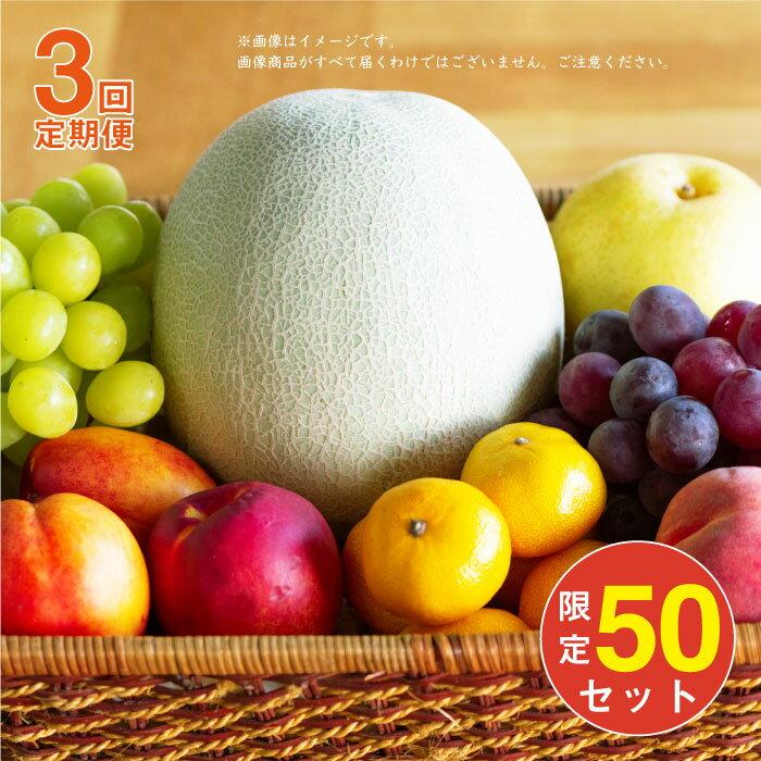 【ふるさと納税】BAJ001【全3回定期便】季節のフルーツ盛り合わせ【50セット限定】