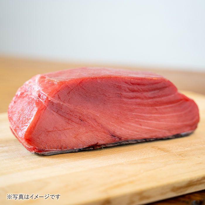 【ふるさと納税】BAK012長崎県産本マグロ中トロ皮付き約700g【大村湾漁業協同組合】