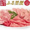 【ふるさと納税】 BAU047 【長崎和牛】 牛肉 長崎和牛ふる里便【年12回定期便】