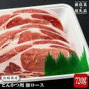 【ふるさと納税】【厳選豚肉をたっぷりお届け】長崎県産豚ロース とんかつ用 120g 6枚 [NA68]