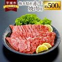 【ふるさと納税】熊本県産赤牛 焼肉用 約500g 肉 お肉 にく 牛肉 焼き肉 焼肉 やきにく ヤキニク 焼肉用 赤牛 熊本県産 九州産 冷凍 送料無料