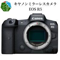 【ふるさと納税】キヤノンミラーレスカメラ EOS R5 家電 写真 canon 正規品 ミラーレス 送料無料 R14035 【大分県大分市】